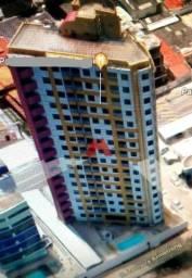 Título do anúncio: Apartamento com 2/4 para alugar, 56 m² por R$ 1.800/mês - Ponta Negra - Natal/RN