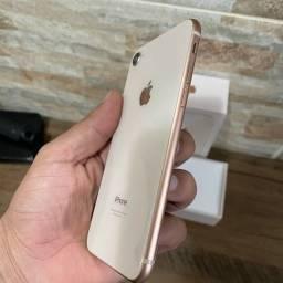 Título do anúncio: iPhone 8 64GB rose