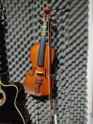 Título do anúncio: Violino com case completo som incrível