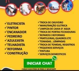 Título do anúncio: Faz tudo,Marido de aluguel,Pedreiro,Consertos,Reparos e Elétrica.