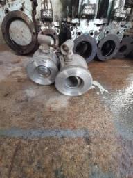 Válvula industrial usada