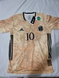 Título do anúncio: Camisa Argentina Especial Golden x Memorial Edição Jogador 2021/2022<br><br>