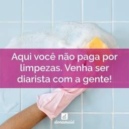 Título do anúncio: Diarista para Limpezas