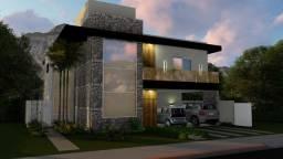 Casa com 4 dormitórios à venda, 350 m² por R$ 2.000.000,00 - Alphaville Jacuhy - Serra/ES