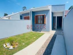 Casa de 2 dormitórios   Pátio frente e fundos   Fácil acesso a BR116