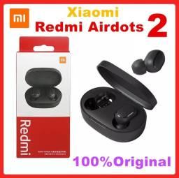 Xiaomi Airdots 2 fone + brindes Case e cabo usb
