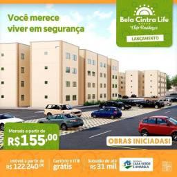 #119#!Apartamentos na Forquilha com academia mobiliada, entrada facilitada!!!