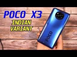 Título do anúncio: Poco X3 64 GB / 6 GB Ram Azul