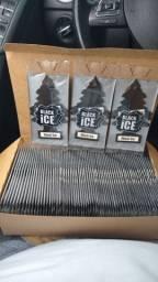 little trees aromatizador de carro Black ice