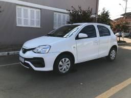 Título do anúncio: Toyota Etios X 1.3 2018 ótimo estado de conservação