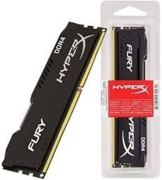 2pente memórias DDR4 Hyper X 2400mhz 4gb (8gb total)