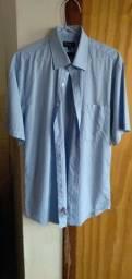 Título do anúncio: Camisa Azul Extra Cotton G Seminova