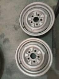Título do anúncio: Rodas de ferro aro 14 para opala Ou caravan