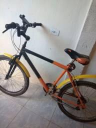 Bike Aro 26 filé 500$ Aceito troca com volta sua