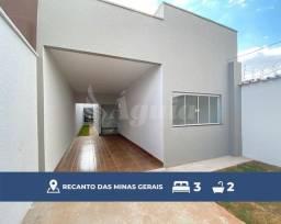 Título do anúncio: Casa de alto padrão com 3 quartos no Setor Recanto das Minas Gerais.