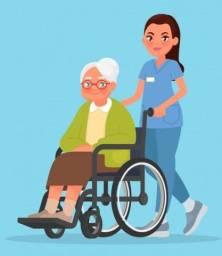 Título do anúncio: Cuidador de idosos, acompanhante hospitalar.
