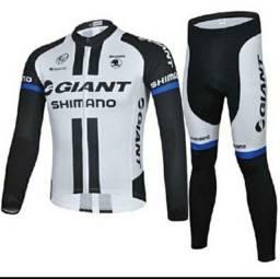Título do anúncio: Kit Camisa e Calça Para Ciclista