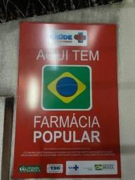 Título do anúncio: Vende-se farmácia completíssima com farmácia popular!!!