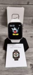 Magnífico Smartwatch Iwo Max 2.0 branco! Faça e receba chamadas!