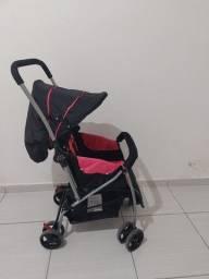 Vendo carrinho de bebê e carrinho auxiliar multiuso