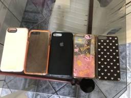 capinhas de iphone 8 plus (usadas)
