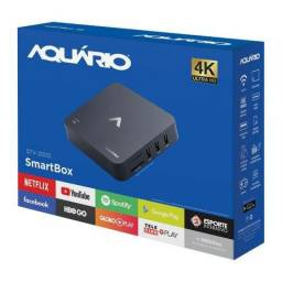 Smart TV Box 4K Aquário Stv-2000 (Canais Ip Incluso*)
