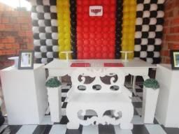 Itens para decoração de festas (loja)