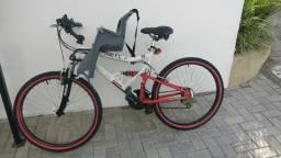Bicicleta Reebok Caloi São Paulo Edição Limitada Leônidas