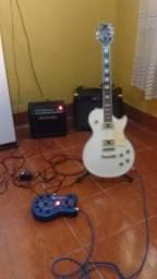 Guitarra Golden lespaul