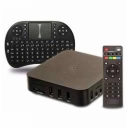 Kit para transformar sua TV em Smart mais mini teclado sem fio