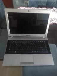 Notebook Samsung RV415 4gb dual core usado