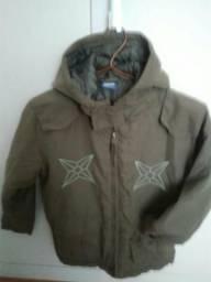 2 jaquetas quentes infantil e adulto