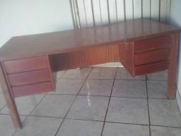 Mesa grande de madeira multi uso