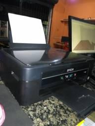 Impressora epson l380 semi nova, tanque