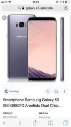 Galaxy S8 (Novo) - 64gb - Ametista - 19/06/2018
