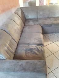 Sofá de canto usado