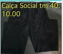 Calça social masculina tm 40