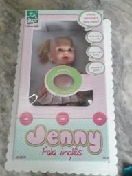 Boneca jenny que fala nova ( lacrada na caixa )