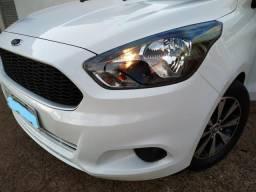 Ford ka SE 1.0 2016/2016 branco volks fiat chevrolet kia pegeout renault hyundai - 2016