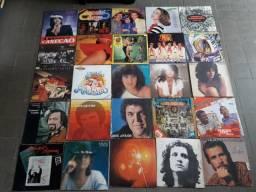 Coleção 125 discos vinil mpb rock diversos