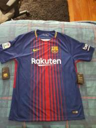 Camisa Original Barcelona 2017 18 - Tamanho G - Nike 42a6da84f3564