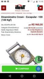 Dinamômetro Crown Escapular - 100 Kgf