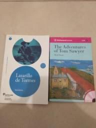Livros espanhol e inglês