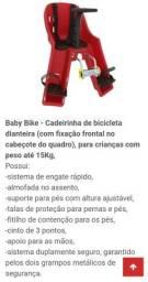 Cadeirinha Baby Bike Nova