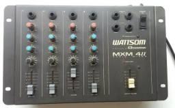 Mesa de som 4 canais wattsom