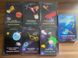 Box Coleção Mochileiro das Galáxias - Douglas Adams