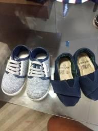 Sapato perto kids e pimpolho