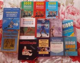 Livros de educação física semi novos lote todo 280 reais ,cidade Caruaru.