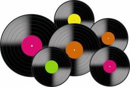 Lps - discos de vinil para artesanato e decoração - R$ 2 unidade