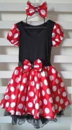 Fantasia infantil Minnie tradicional ou Rosa comprar usado  Jaboatão dos Guararapes